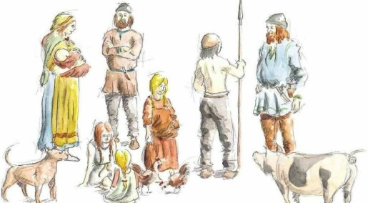 Viking men were buried with cooking gear