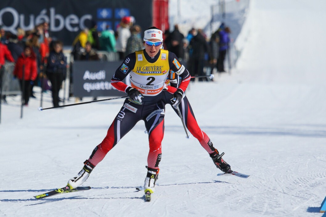 Marit Bjørgen, 2017 Ski Tour Canada, Quebec City. (Photo: Cephas / Creative Commons Attribution-Share Alike 4.0 International)