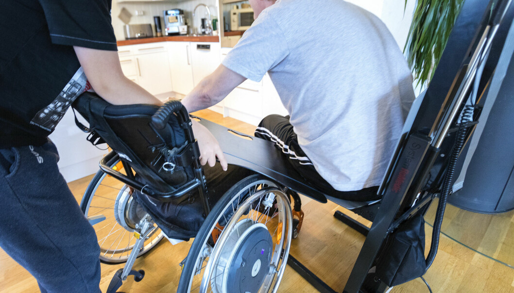 ALS – Amyotrophic lateral sclerosis – is a disease that causes muscle wasting because the nerve cells that transmit signals from the brain to the muscles are destroyed. ALS affects about 150 people in Norway annually and 450 000 worldwide. (Illustration photo: Gorm Kallestad / NTB scanpix)
