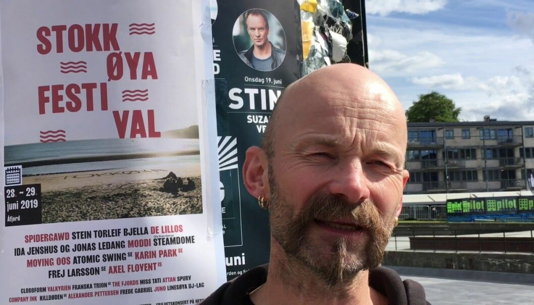 Aksel Tjora is a professor of sociology at the Norwegian University of Science and Technology (NTNU) who studies how people behave at festivals.