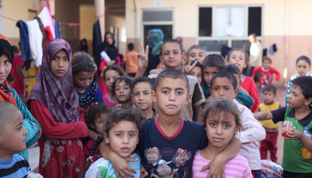 The civilian population of Mosul started an unorganized boycott of the Islamic State's new school system in 2015. Many parents didn't send their children to school because ISIL's teachings were contrary to their own values. In 2016, researcher Mathilde Becker Aarseth met many children in refugee camps who had been displaced from Mosul and the surrounding villages with their families. (Photo: Mathilde Becker Aarseth)