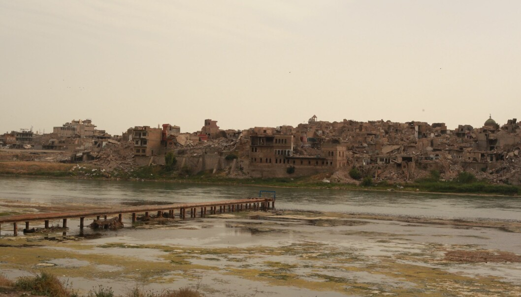 The Old City of Mosul was bombed during military operations against ISIL. It remains in ruins. (Photo: Mathilde Becker Aarseth)