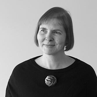 Archaeologist and project manager Vibeke Vandrup Martens (Foto: NIKU)