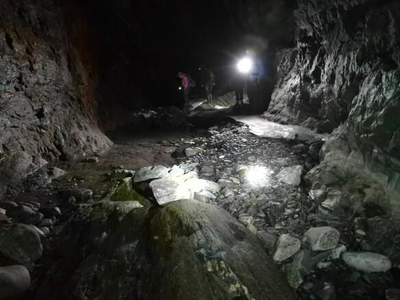 Into the Subglacial Tunnel