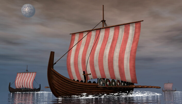 The Vikings' ship technology allowed them to travel far to plunder and trade. (Illustration: Elenarts / Shutterstock / NTB scanpix)