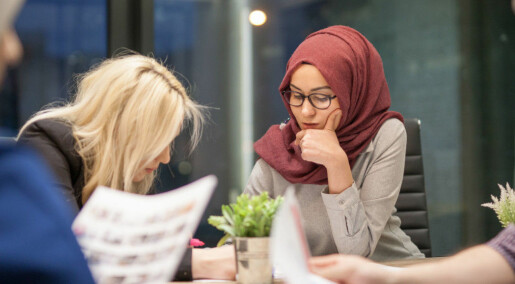 Discrimination: Thirty-five per cent of Muslim immigrants say they did not get a job they were qualified for