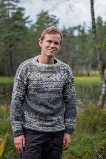 Gaute Eiterjord, leader of Young Friends of the Earth Norway, prefers taking the train over flying. (Photo: Thor Due, Natur og Ungdom)