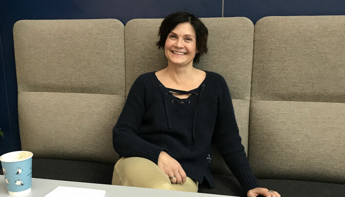"""""""There is a need to go through the medication information in the systems"""", says senior  researcher Kari Dyb at the Norwegian Centre for E-health Research. (Photo: Lene Lundberg)"""