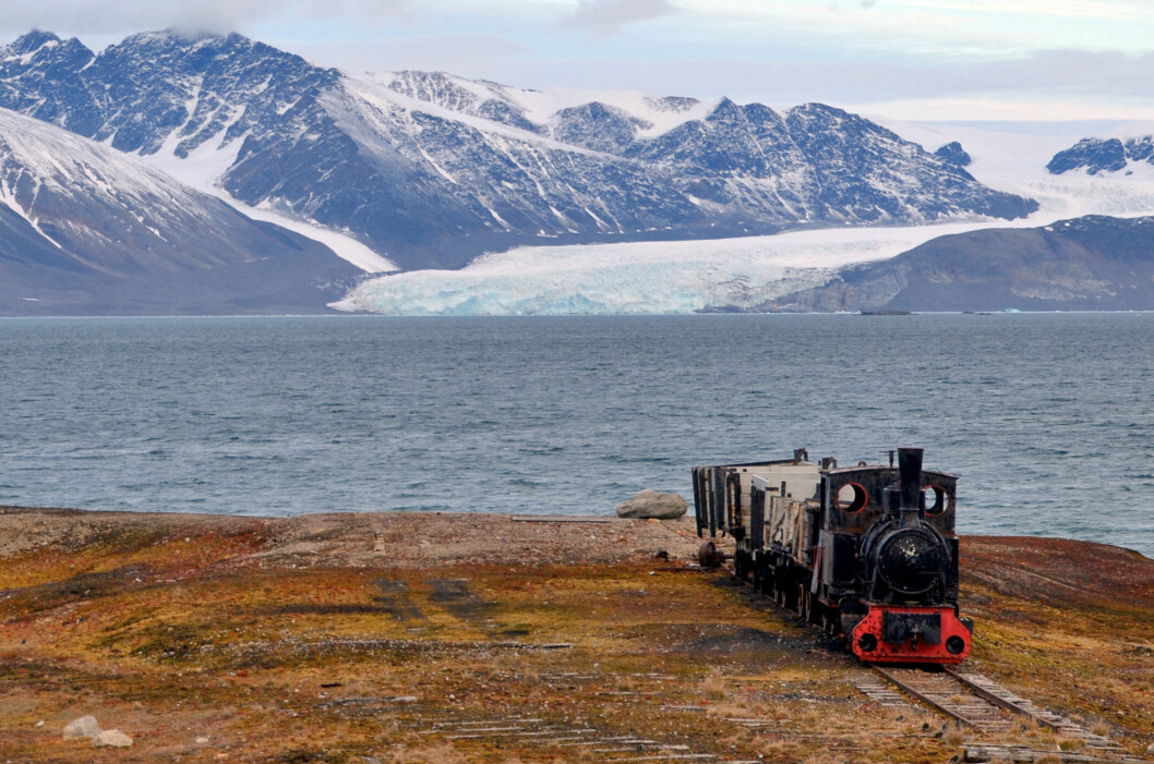 """Arctic climate suddenly went off the rails""- Abandoned mine in Ny-Ålesund, Svalbard. Photo: Torgeir Røthe"