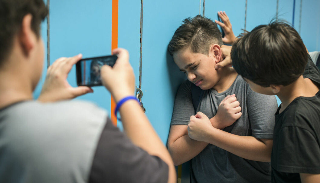 "As a bully, you gradually lose friends. ""As long as you're 'big and threatening,' bullying tactics may work. But as the years go by, more and more often you find yourself alone in the world,"" says bully researcher Erling Roland. (Photo: NTB scanpix / Shutterstock)"