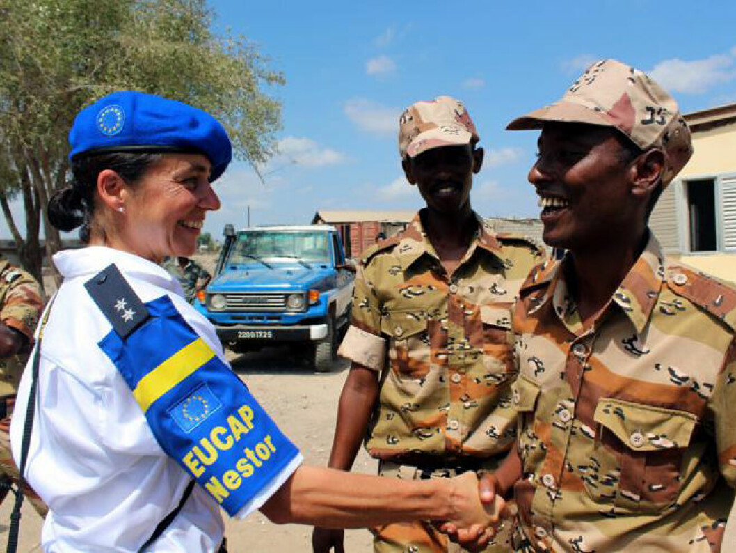 Rule of law, human rights, and incorporating a gender perspective have been important aspects of many of the EU's missions abroad, such as EUCAP Nestor in Somalia (Photo: EEAS)