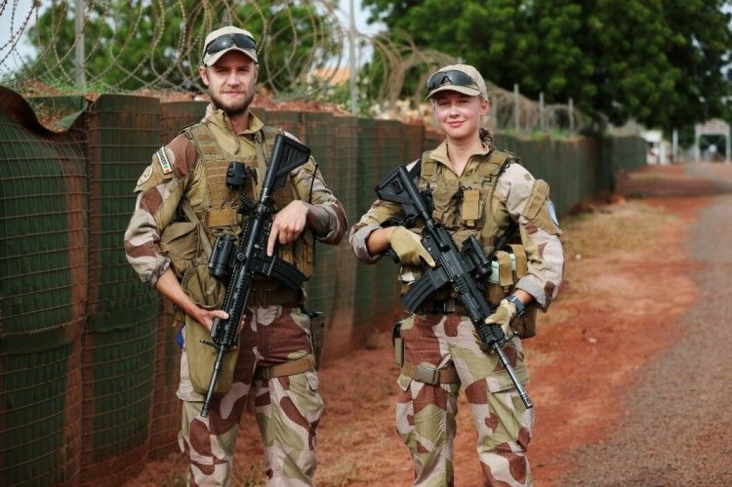 Norway is supposed to be in the lead when it comes to women, peace and security in armed conflicts internationally. This photo shows soldiers from Guard and Security team 1 of the NORTAD II force in the UN operation MINUSMA in Mali. The people depicted in the photo have no connection to the content in this case. (Photo: Torbjørn Kjosvold/Forsvaret.)
