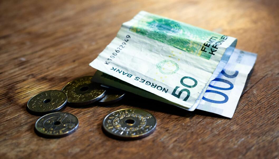 Slightly more poor people in Norway