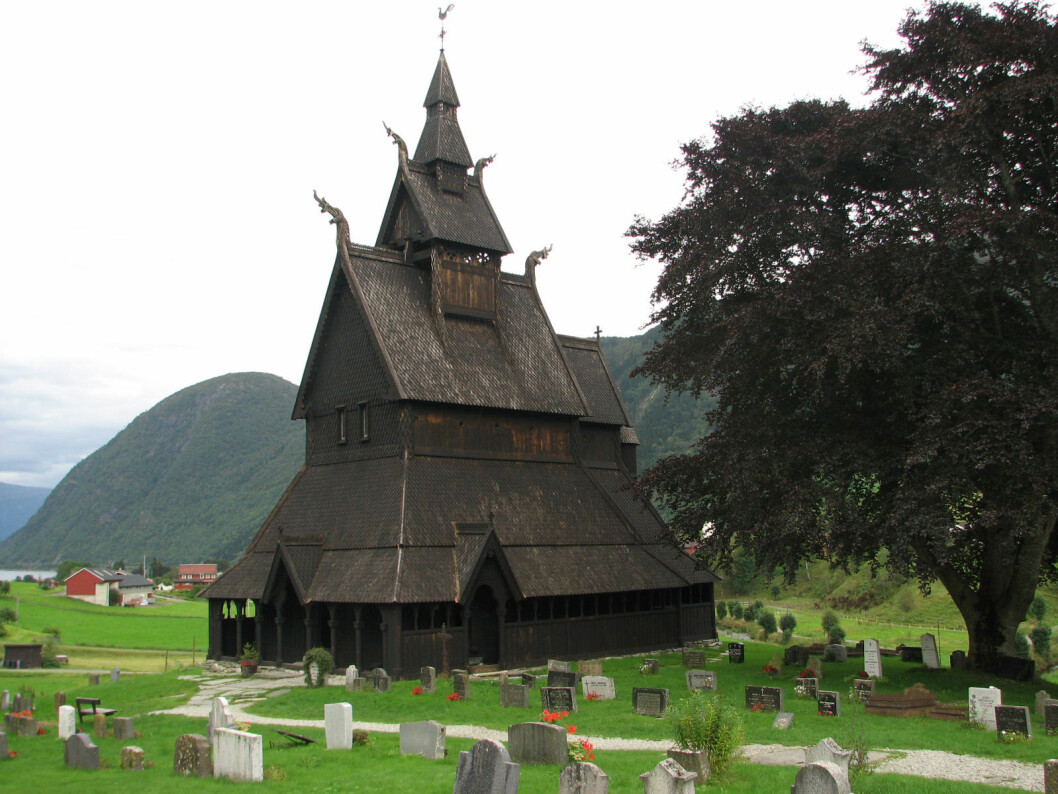 Hopperstad Stave Church in Sogn og Fjordane county is dendro-dated to 1131-1132. Previously, the date was estimated at 1125-1250. Photo: Jan Michael Stornes