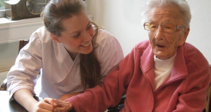 Elderly people in nursing homes not so preoccupied by death