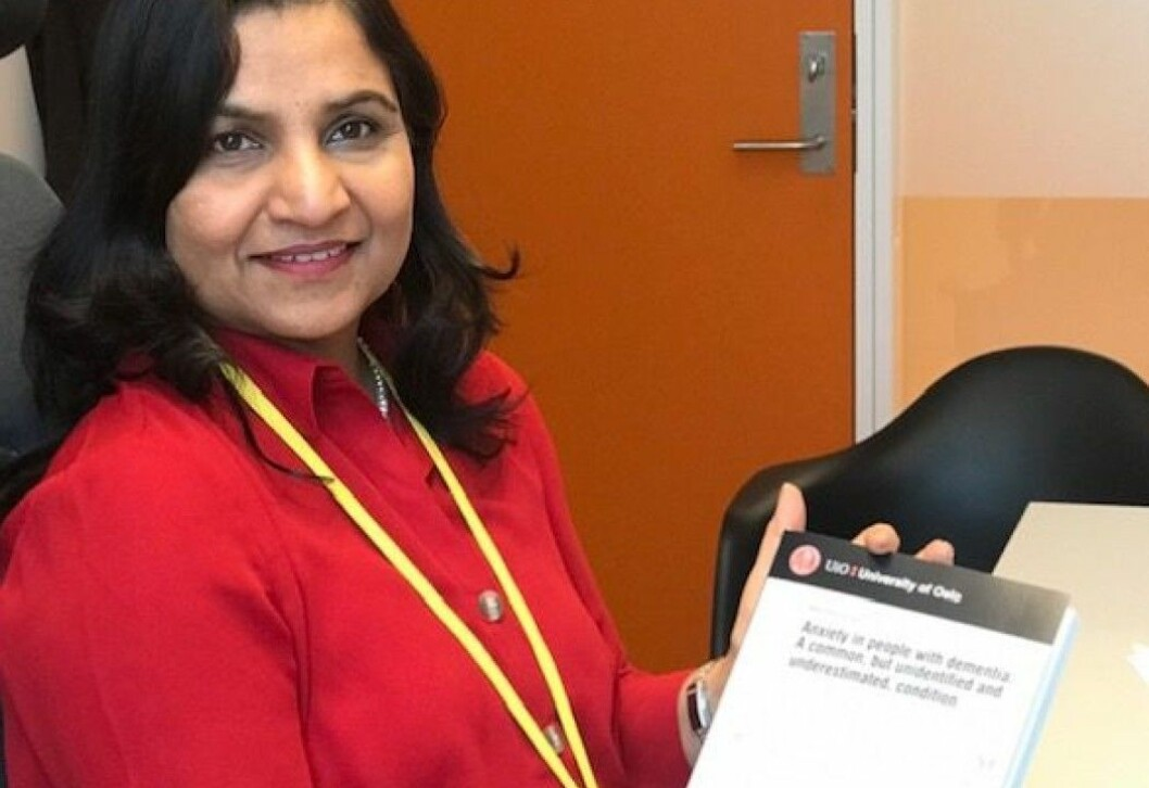 Anxiety in people with dementia is often perceived as part of the disease, not as anxiety itself, Alka Rani Goyal says. She has recently completed a doctoral dissertation where she presents a tool that can track anxiety in people with dementia.