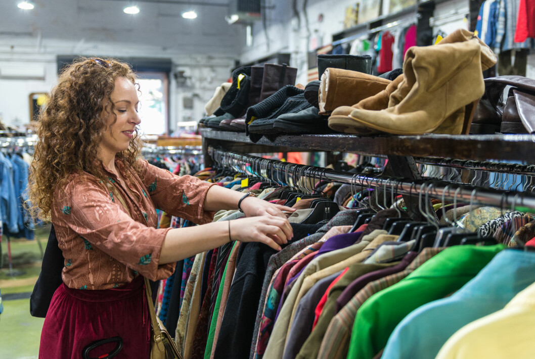 There's lots of used clothing to choose from. Are you in? After all, that coat could be a backup if you are not completely satisfied.