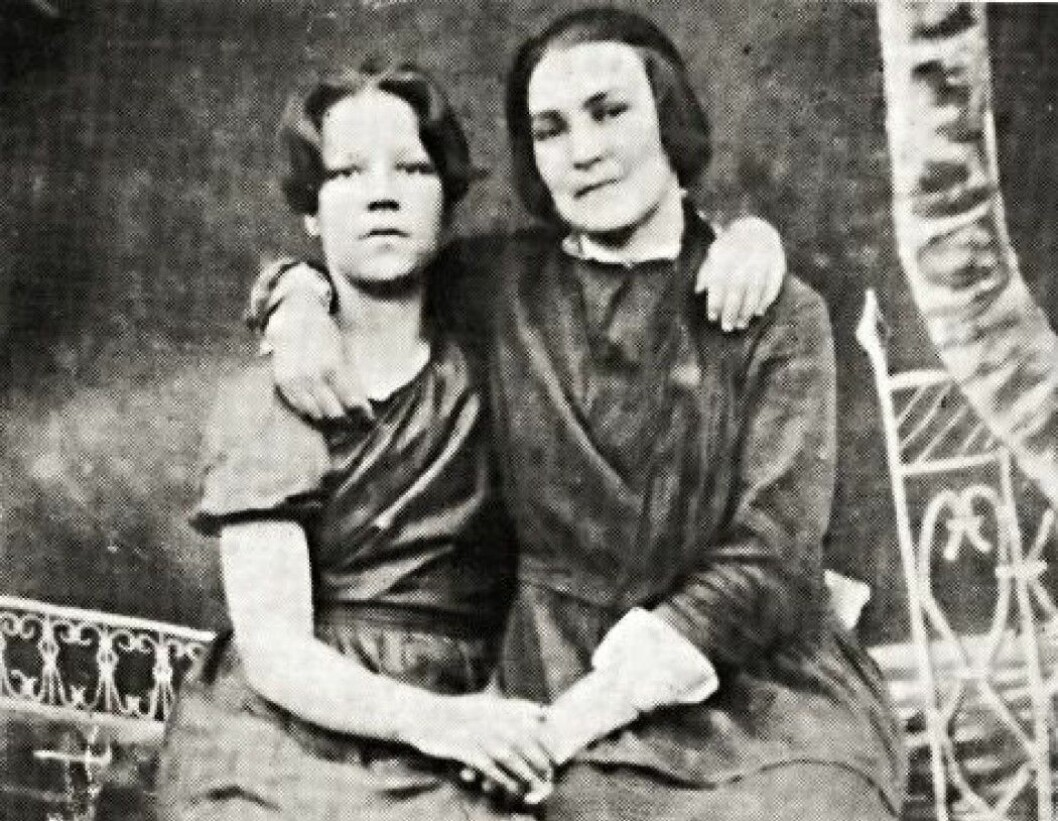 Gudrun Fredriksen (at left) was born in 1907 and was arrested along with her father. Both were shot. Now her daughter, also named Gudrun, tells a researcher how she experienced the atrocities against the Norwegians during Stalin's terror.