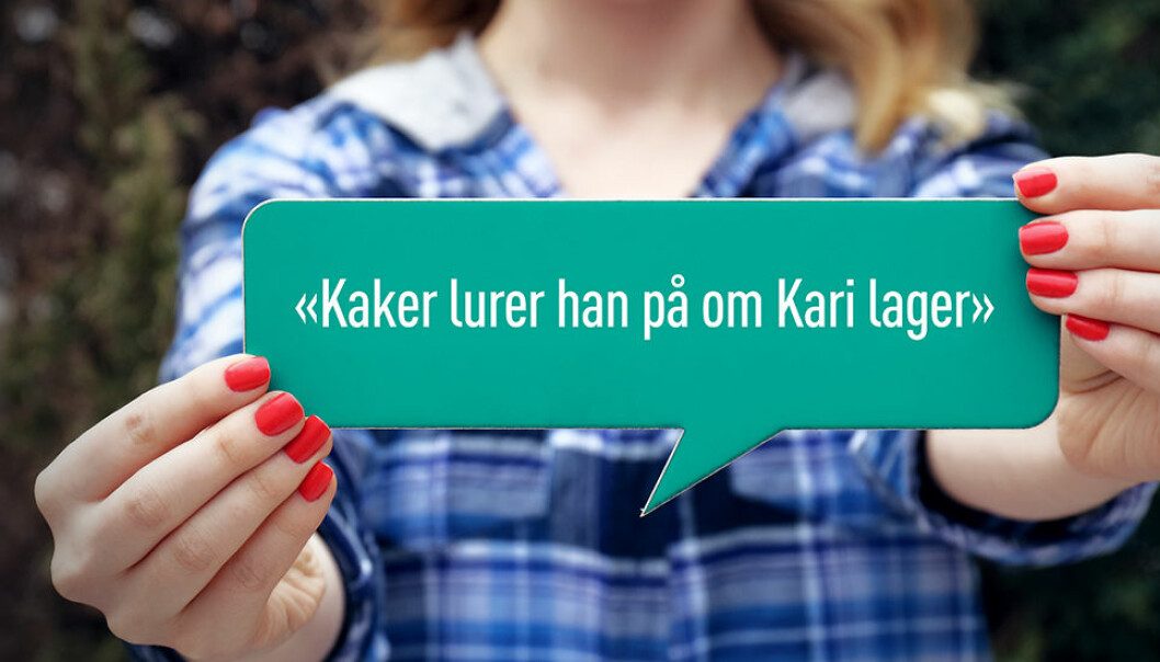 A recent study highlights a language phenomenon that exists primarily in Norwegian, Swedish and Danish.