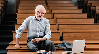 Professors interviewed by Norwegian print media are usually men