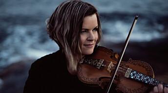 Folk musician Annbjørg Lien's PhD on Hardanger fiddle folk tunes includes a new solo album