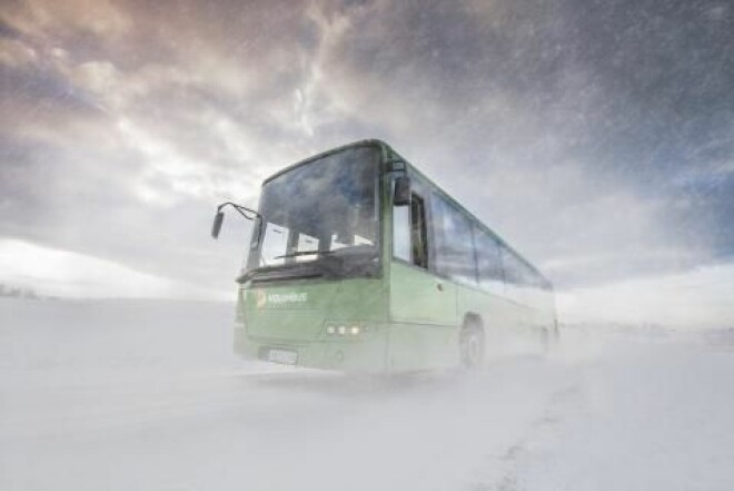 Imagine that the public transport company notices that you are heading home after work in the winter. Then they can share data with your energy supplier and turn up the heating in your home. If that's what you want, of course.