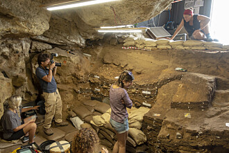 "DOCUMENTING THE PAST: Digging into the past also incurs responsibility. ""The excavation must be done in such a way that it allows us to preserve the site for generations to come"", says Unhammer."