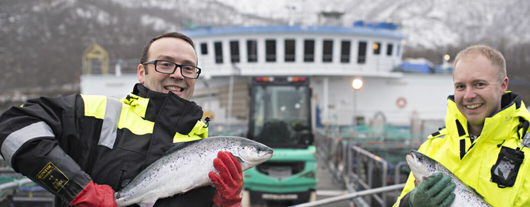 """In recent years there has been a marked increase in the level of costs when it comes to salmon farming"", says Audun Iversen"