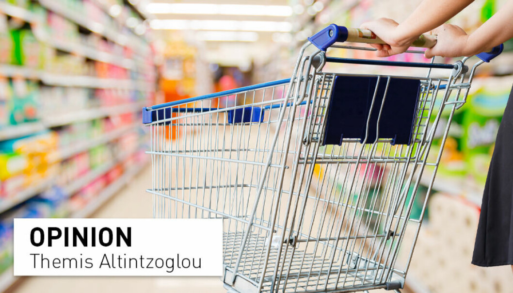 Morals and values that consumers talk loudly about fly out the window when they rush through the supermarket on their way home, writes consumer researhcer Themis Altintzoglou.