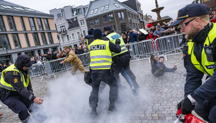 Far right groups in Norway instigate more street provocation than before