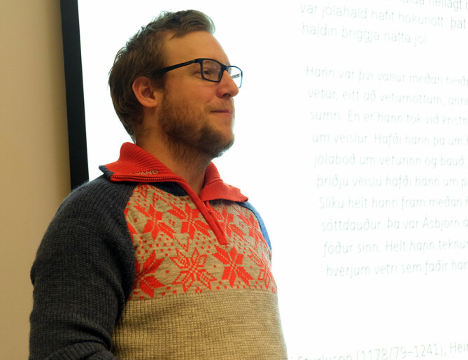 NTNU PhD candidate Christian Schulz believes the distinctive Norwegian yeast kveik has great potential for beer production.