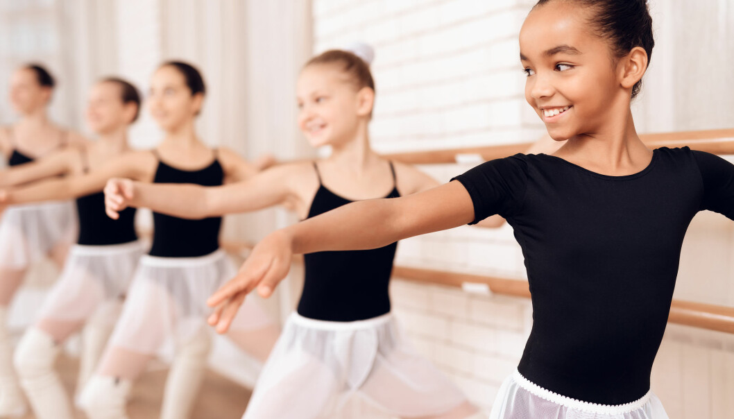 Specialisation starts earliest in ballet, where even young children participate in professional and teacher-guided training with a stress on technique and critical feedback.