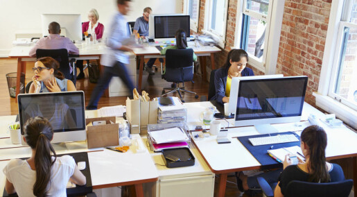 People who work in open-plan or shared offices get sick more often