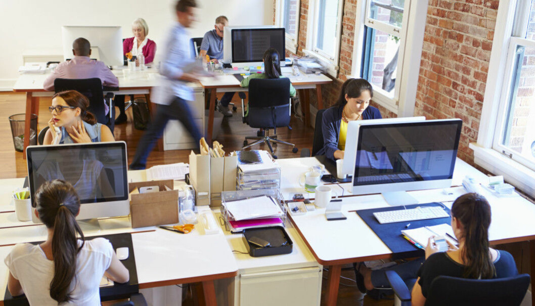 Employees in open-plan workspaces are more prone to sickness than workers who have their own enclosed, private offices.