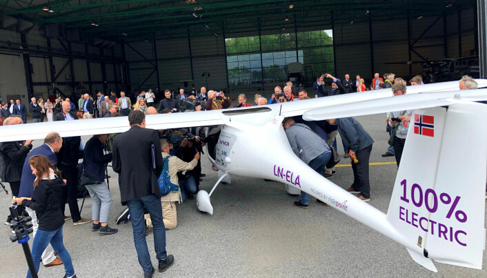 You will never fly to far-away holiday destinations by electric plane