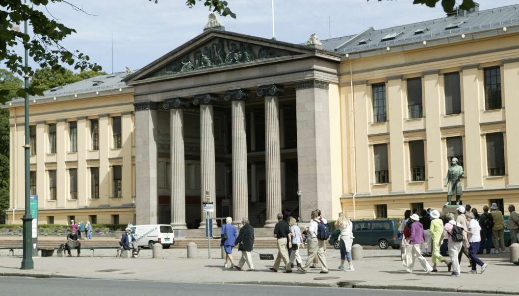 The University of Oslo does not think a competition initiated by the government is the way to go about making changes when it comes to environment and climate change issues in the university sector.
