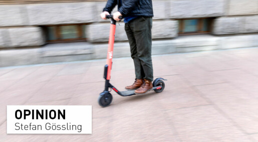 E-scooters – cities should embrace them
