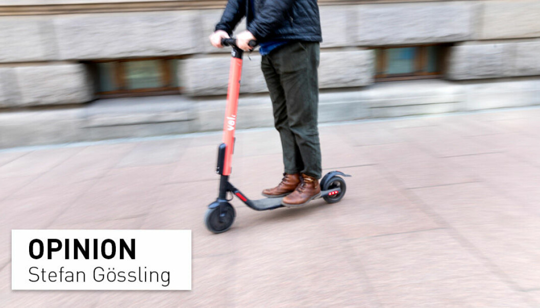 E-scooters can certainly improve transport systems, and the common gripes and difficulties can be avoided with a few simple policies, writes professor Stefan Gössling.