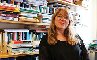 Sissel Furuseth is studying literature covering the climate crisis.