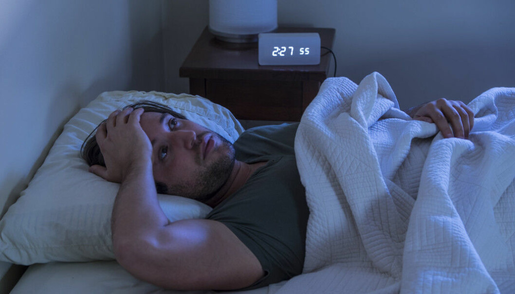 The most common sleep disorder is sleeping restlessly and waking up several times during the night, the researchers found.