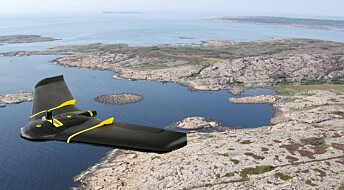Using drones to accurately map life under water