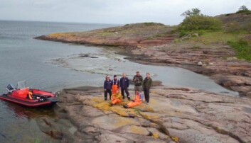 The fieldwork team at the end of the data collection process.