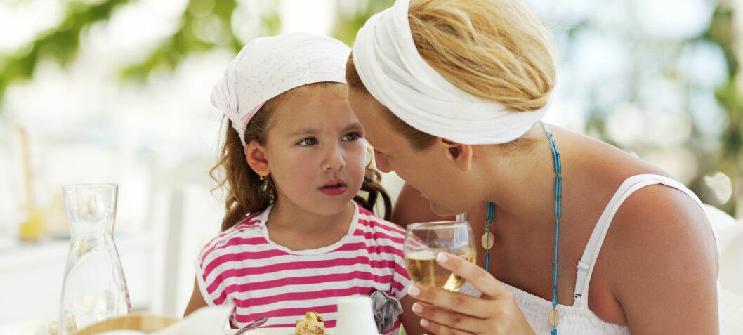 Mum drinking just a little too much led to behavioural problems in children