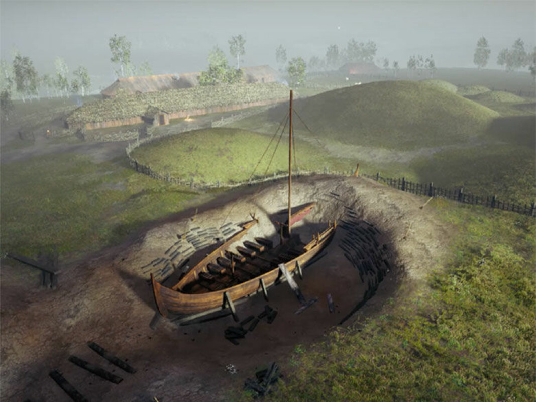 In 2019, archaeologists started excavating the ship. It had been 115 years since the last time a similar excavation had taken place. Only small areas were opened for excavation. Most of the ship grave still lies buried and unexplored.