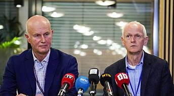 Norwegian health official: