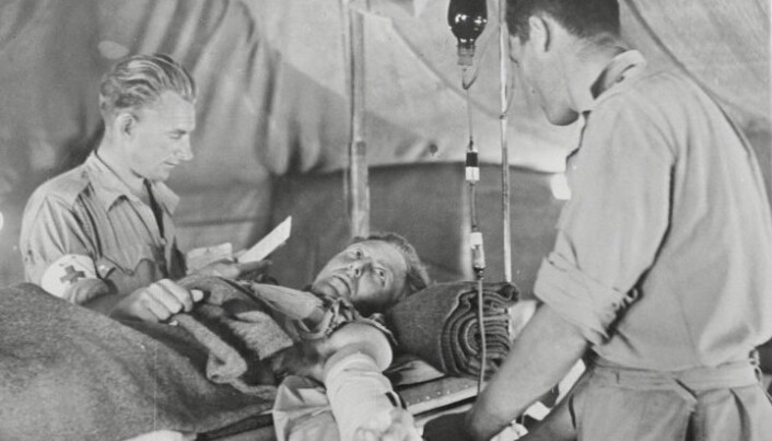The use of blood transfusions in the period around World War I and the Spanish flu proved to be a major medical advance at the time.