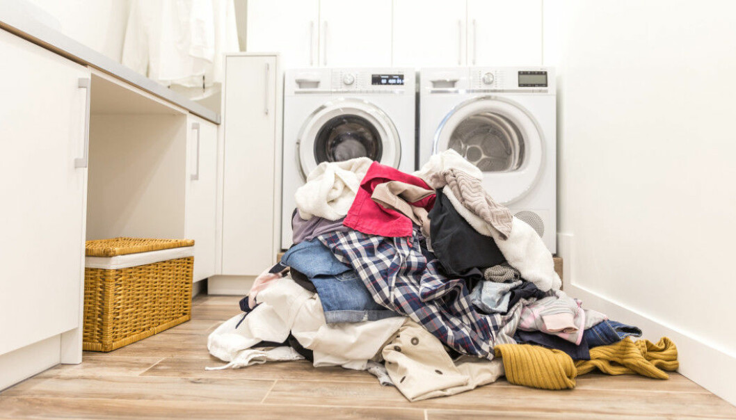 """""""Clothes and other laundry belonging to a sick person should never be mixed with those belonging to other members of the household"""", says researcher Ingun Grimstad Klepp."""