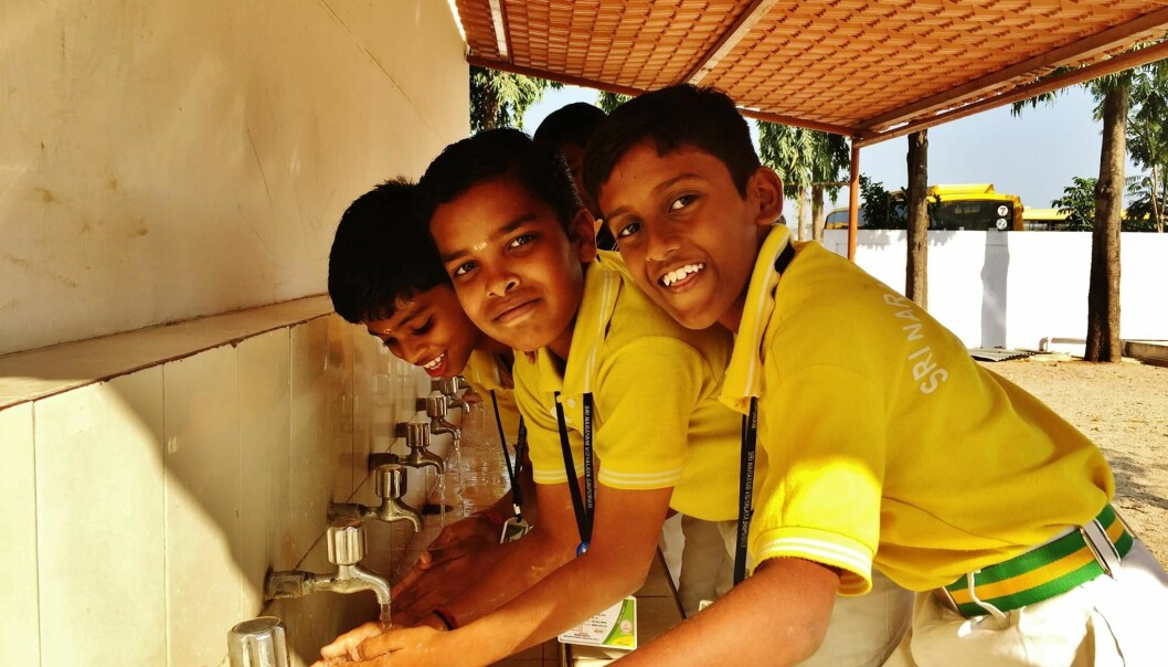 Project SHINE is an action research project that has built capacity among students, teachers and nurses in India to make and sell soap to improve access and promote handwashing, through a partnership with Rocky Mountain Soap Company in Canada.