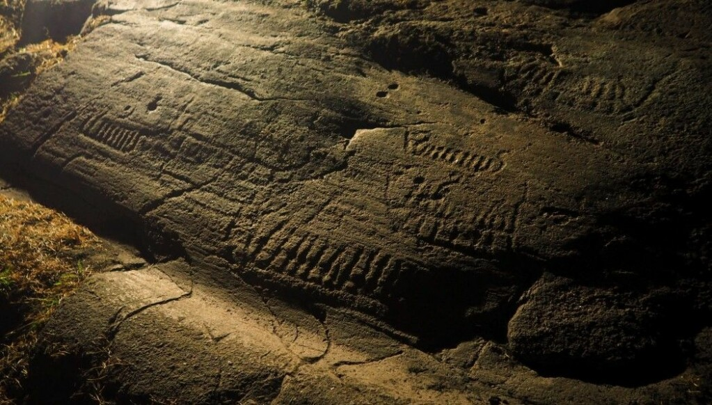 Ships are among the most common motifs of Norwegian Bronze Age rock carvings. The ones depicted were believed to be on their way to the realm of death. Today we know that the Bronze Age was a maritime culture where people in Norway actually had real ships like these that could travel long distances.