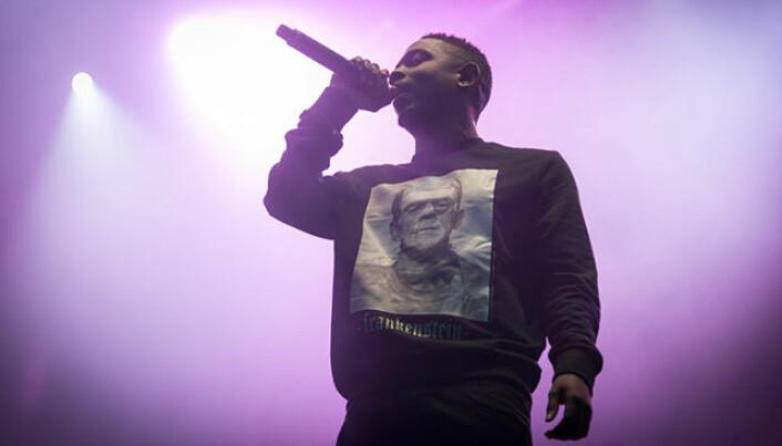 Rapper Kendrick Lamar, here at Øyafestivalen in 2013.